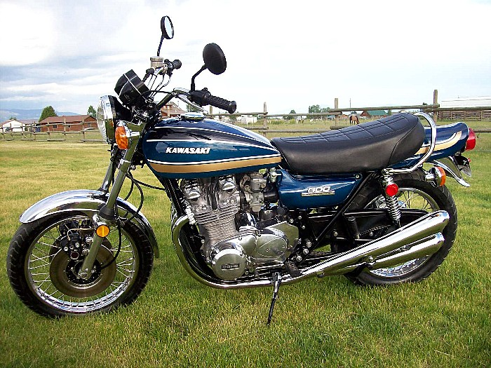 1975 Kawasaki Z1B Super Candy Blue