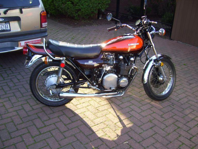Customer's Z1 Photos - motorcycle's restored using Painted Body Part